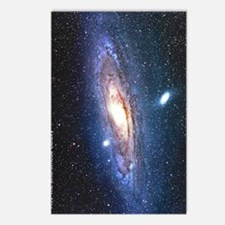 M31 andromeda galaxy hubb Postcards (Package of 8)
