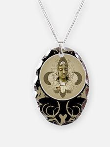 fleurAngelBjourn Necklace Oval Charm