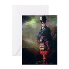 The MacNab by Sir Henry Raeburn Greeting Card