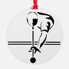 poolman 5x8_journal Ornament