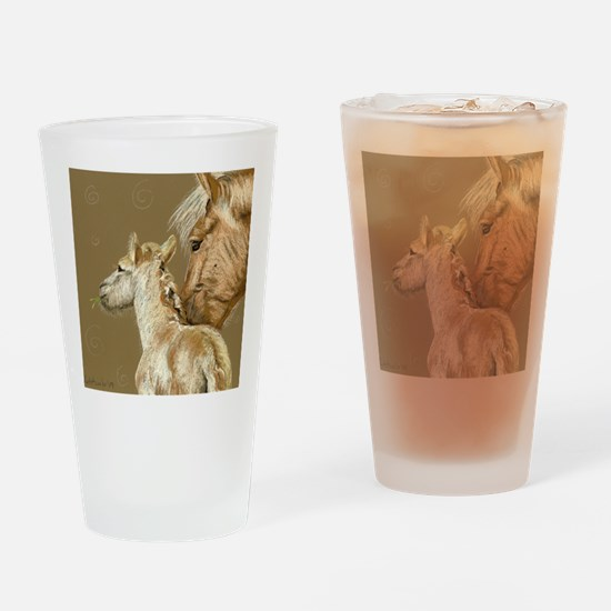 fjordfoalround Drinking Glass