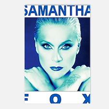 sam fox t-shirt design 1  Postcards (Package of 8)