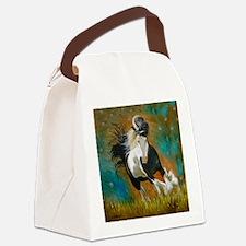 runninggypsyround Canvas Lunch Bag