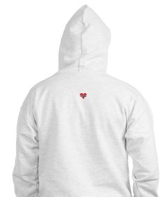 I Hate Everything Hoodie (white or grey)