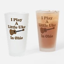 Ohio Ukulele Drinking Glass