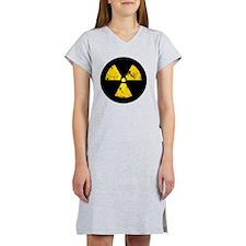 radiationSymbErodedBCC Women's Nightshirt