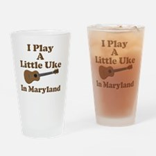 Maryland Ukulele Drinking Glass