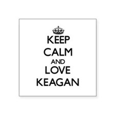 Keep Calm and Love Keagan Sticker