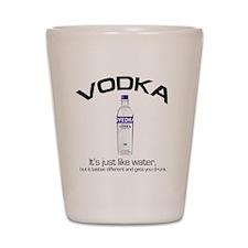 vodka shirt copy Shot Glass