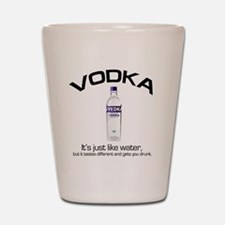 vodka shirt copy Shot Glass