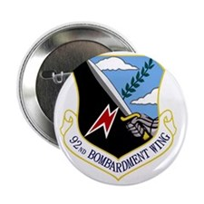 """92nd Bomb Wing 2.25"""" Button"""