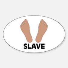 Slave Oval Decal