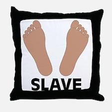 Slave Throw Pillow