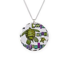 I SWIM WITH SEA TURTLES Necklace