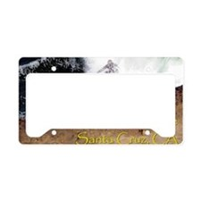 Steamer Lane Enhanced License Plate Holder