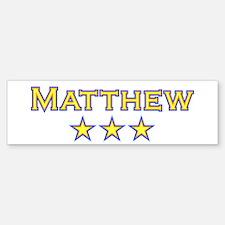 Matthew Bumper Bumper Bumper Sticker