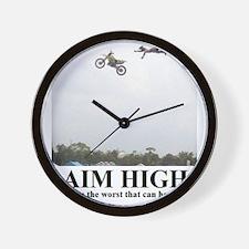 AIM HIGH1 Wall Clock