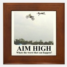 AIM HIGH1 Framed Tile