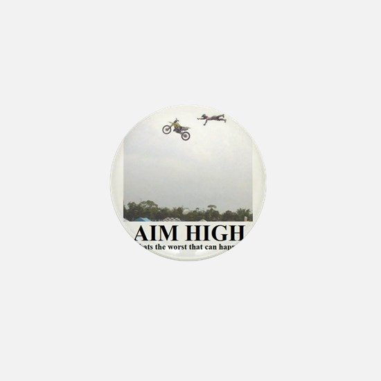 AIM HIGH1 Mini Button