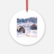 vt photo (1) Round Ornament