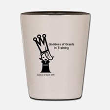 GoddessTraining Shot Glass