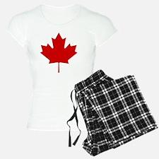 cafepressMapleLeaf pajamas