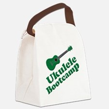 Funny Ukulele Canvas Lunch Bag