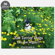 rat_terrier_flowers Puzzle