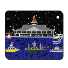Newport Beach_Christmas Boats on Parade Mousepad
