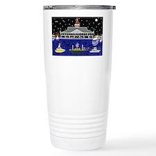 Newport Beach_Christmas Boats o Travel Mug