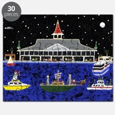 Newport Beach_Christmas Boats on Parade Puzzle
