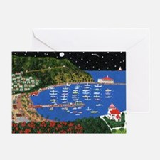 Across the Sea Greeting Card