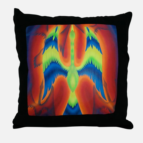 Angels Magnets Throw Pillow