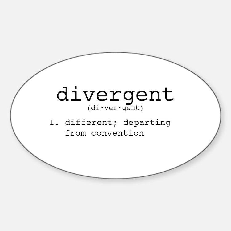 Divergent Definition Decal