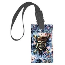 Carribbean_Moon_4.5x6.5 Luggage Tag