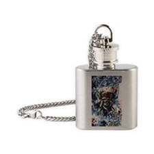 Carribbean_Moon_5x8 Flask Necklace