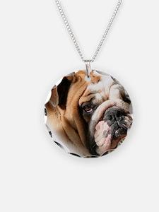 sooka head copy Necklace Circle Charm