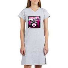 12-1-10 Breast Cancer Can Stick Women's Nightshirt