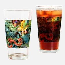 January Drinking Glass