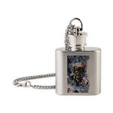 Carribbean_Moon_2.41x4.42 Flask Necklace