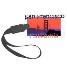 San Francisco Luggage Tag