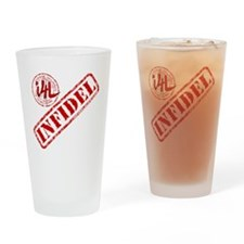 10x10_apparel_white Drinking Glass