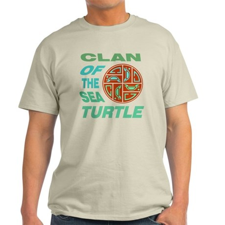 Clan of the Sea Turtle Light T-Shirt