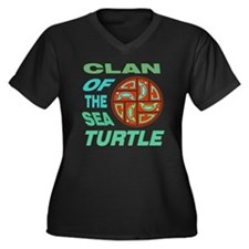 Clan of the  Women's Plus Size Dark V-Neck T-Shirt