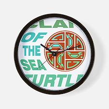 Clan of the Sea Turtle Wall Clock