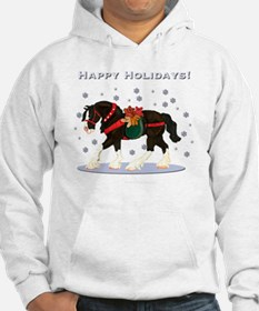 Christmas Clydesdale Hoodie