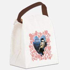 I love chickadees  T copy Canvas Lunch Bag