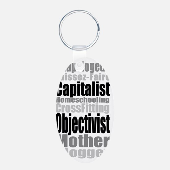 UnapologeticwCrossFit copy Keychains