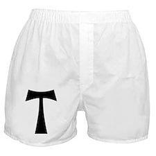 black_tau_cross Boxer Shorts