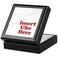 Insert Uke Here Keepsake Box